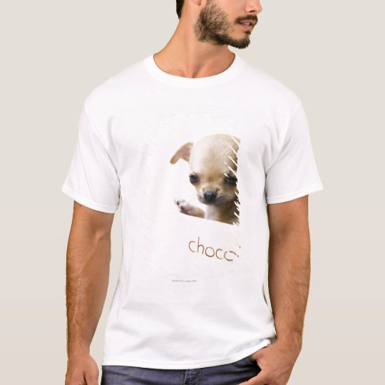 Chihuahua puppy in bowl (cropped) T-Shirt