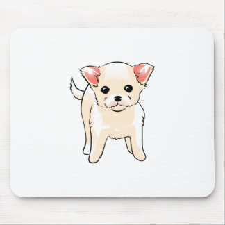 CHIHUAHUA PUPPY MOUSE PAD