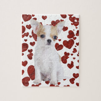 Chihuahua puppy jigsaw puzzle
