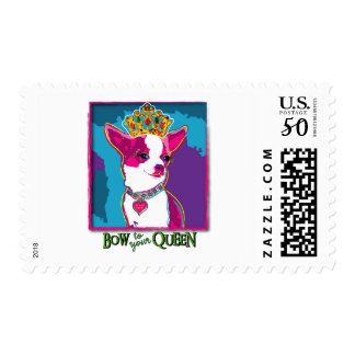 Chihuahua Queen Postage