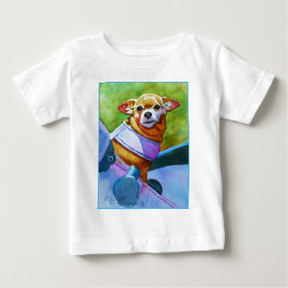 Chihuahua Riding in Style Baby T-Shirt
