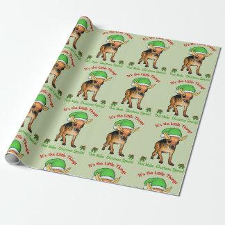 Chihuahua Santa Christmas Wrapping Paper