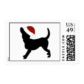 Chihuahua Santa Hat Stamp