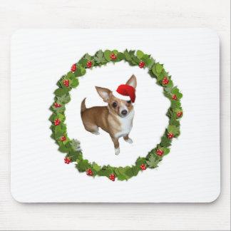 Chihuahua Santa Tapete De Raton