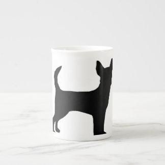 Chihuahua silo black.png porcelain mug
