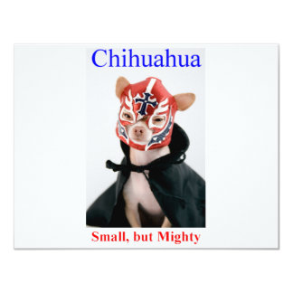 Chihuahua Small But Mighty Breed Card