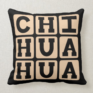 Chihuahua Small Toy Dog Breed Throw Pillows