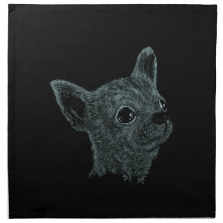 Chihuahua Smooth Haired Napkin