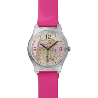 Chihuahua soy un poco un diseño gráfico de la gran relojes de mano