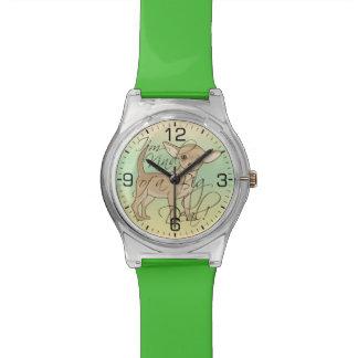 Chihuahua soy un poco un diseño gráfico de la gran relojes