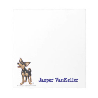 Chihuahua Stationery Notepad