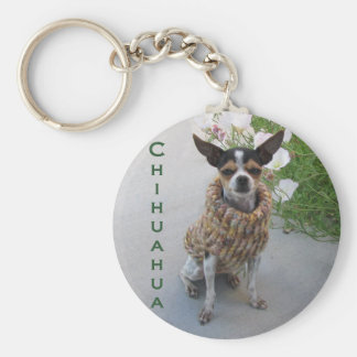 Chihuahua Style Keychain