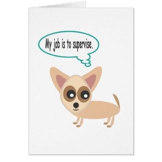 Chihuahua Supervisor card