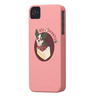 Chihuahua sweety iPhone 4 Case-Mate cases