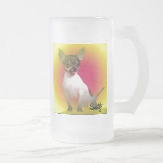 Chihuahua Taza De Cristal