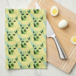 "Chihuahua Themed Kitchen Towels<br><div class=""desc"">Yellow Chihuahua Kitchen Towel</div>"