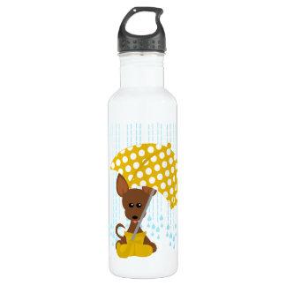 Chihuahua Tiny Rainy Day Liberty Bottle