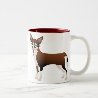 Chihuahua Two-Tone Coffee Mug
