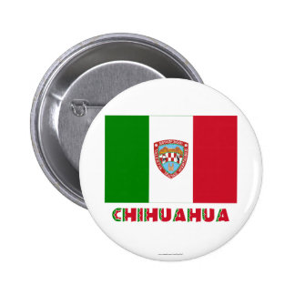 Chihuahua Unofficial Flag Pinback Buttons