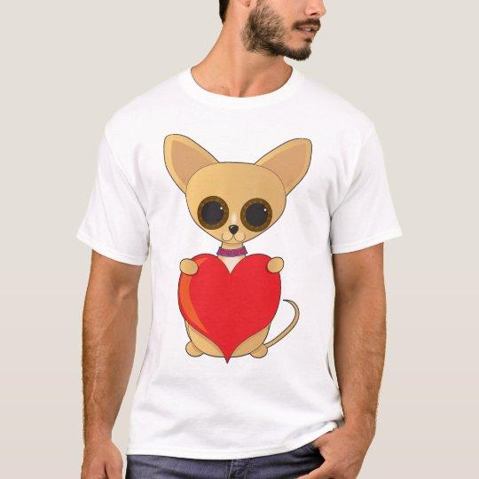 Chihuahua Valentine T-Shirt