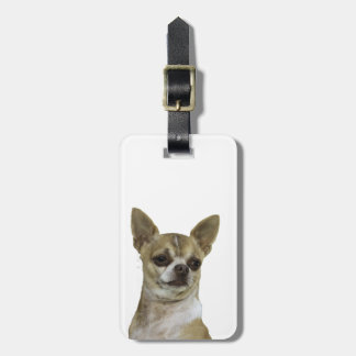 Chihuahua with Attitude Bag Tag