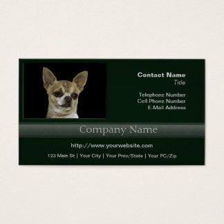 Chihuahua with Attitude Business Card
