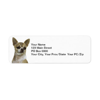 Chihuahua with Attitude Label