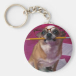 Chihuahua With Pencil Key Chains