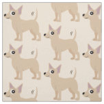 Chihuahua with the Wagging Tail Fabric