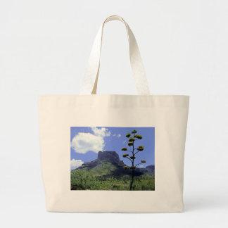 Chihuahuan Desert scene 02 Large Tote Bag