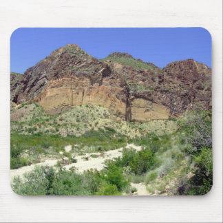 Chihuahuan Desert scene 08 arroya Mouse Pad