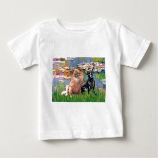 Chihuahuas 6 & 7 - Lilies 2 T Shirts