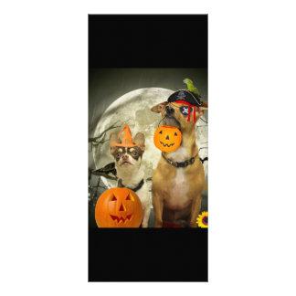 Chihuahuas de Halloween Lona Publicitaria
