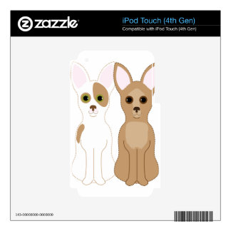 Chihuahuas iPod Touch 4G Skins