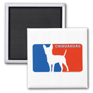 Chihuahuas Major League Dog Magnet