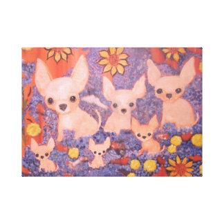 Chihuahuas, pets, dogs, canvas prints