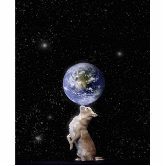 Chihuahuas Rule the World Photo Sculpture