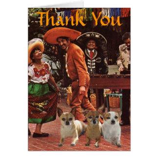 Chihuahuas Thank You Card
