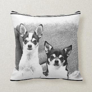 Chihuahua's Throw Pillow