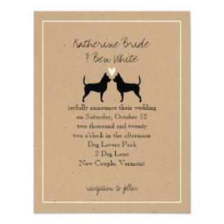 Chihuahuas Wedding Invitation