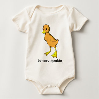 CHIK-1, be very quakie Baby Bodysuit