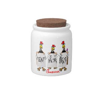 Chik-fil-a-hole Candy Jar