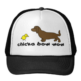 chika-bow-wow mesh hats