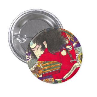 Chikanobu Samurai 3:5 Pinback Button