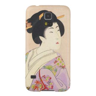 Chikanobu Yoshu True Beauties Unknown Title Case For Galaxy S5