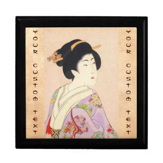 Chikanobu Yoshu True Beauties Unknown Title Jewelry Box