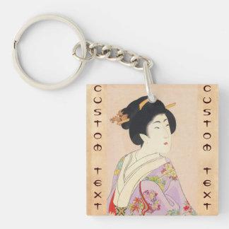 Chikanobu Yoshu True Beauties Unknown Title Keychain