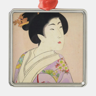 Chikanobu Yoshu True Beauties Unknown Title Metal Ornament