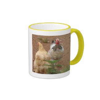 chiken coffee mug