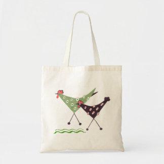 ¡Chikens, funcionamiento! la bolsa de asas del art